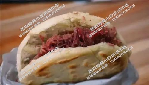 腊牛肉夹馍培训