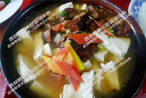 炖虎皮豆腐