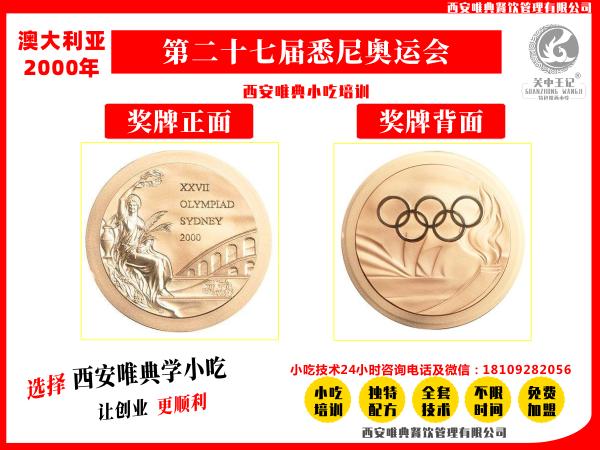 2000年悉尼奥运会奖牌